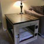 diy dog crate end table break down old wire with bolt cutters build frame around mount pieces and then top out ethan allen heirloom collection furniture row mattress industrial 150x150