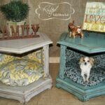 diy end table dog beds before and after create vignette pet seasonal family mementos inside have just the tables for this wall color that goes with dark brown furniture small 150x150