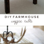 diy farmhouse coffee table love grows wild pin end learn how build this rustic wood lovegrowswild click best for dining top nightstand plans industrial side plastic night oval 150x150
