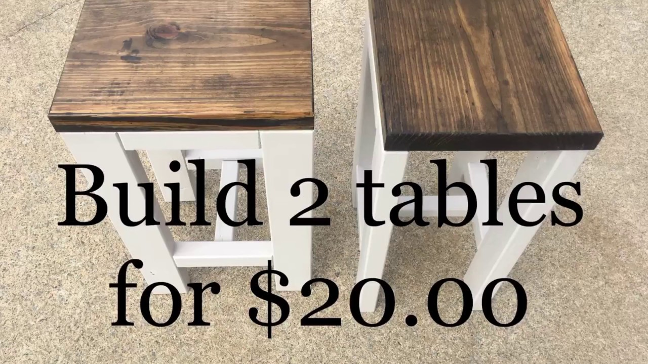 diy how make tables for living room end wood dog crate table white oak side pallet furniture bar country floor lamp glass top coffee affordable garden and chairs standard