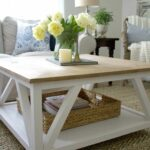 diy modern farmhouse coffee table house deco decorating end tables square sincerely marie designs ashley ott unfinished small desk console cabinet what pallet furniture riverside 150x150