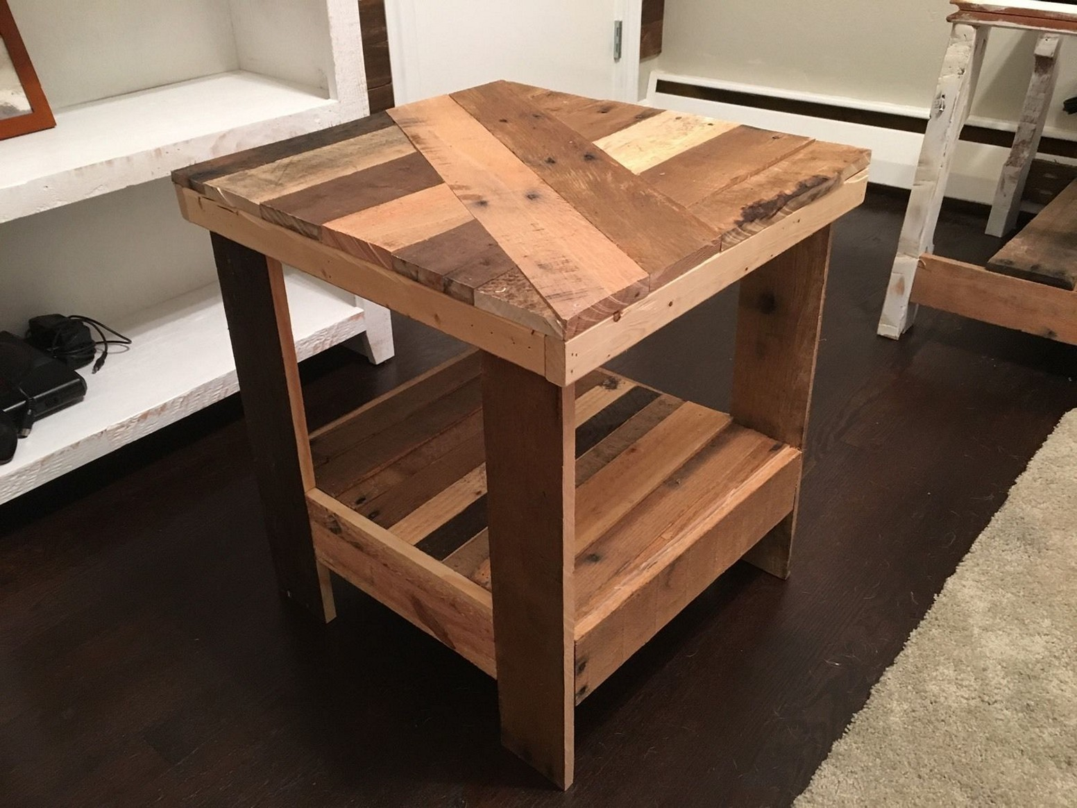 diy outdoor end table decoratorist previousnext mission natural coffee dining top monarch magnussen ashby collection furniture accent tables upscale ashley martini cube living