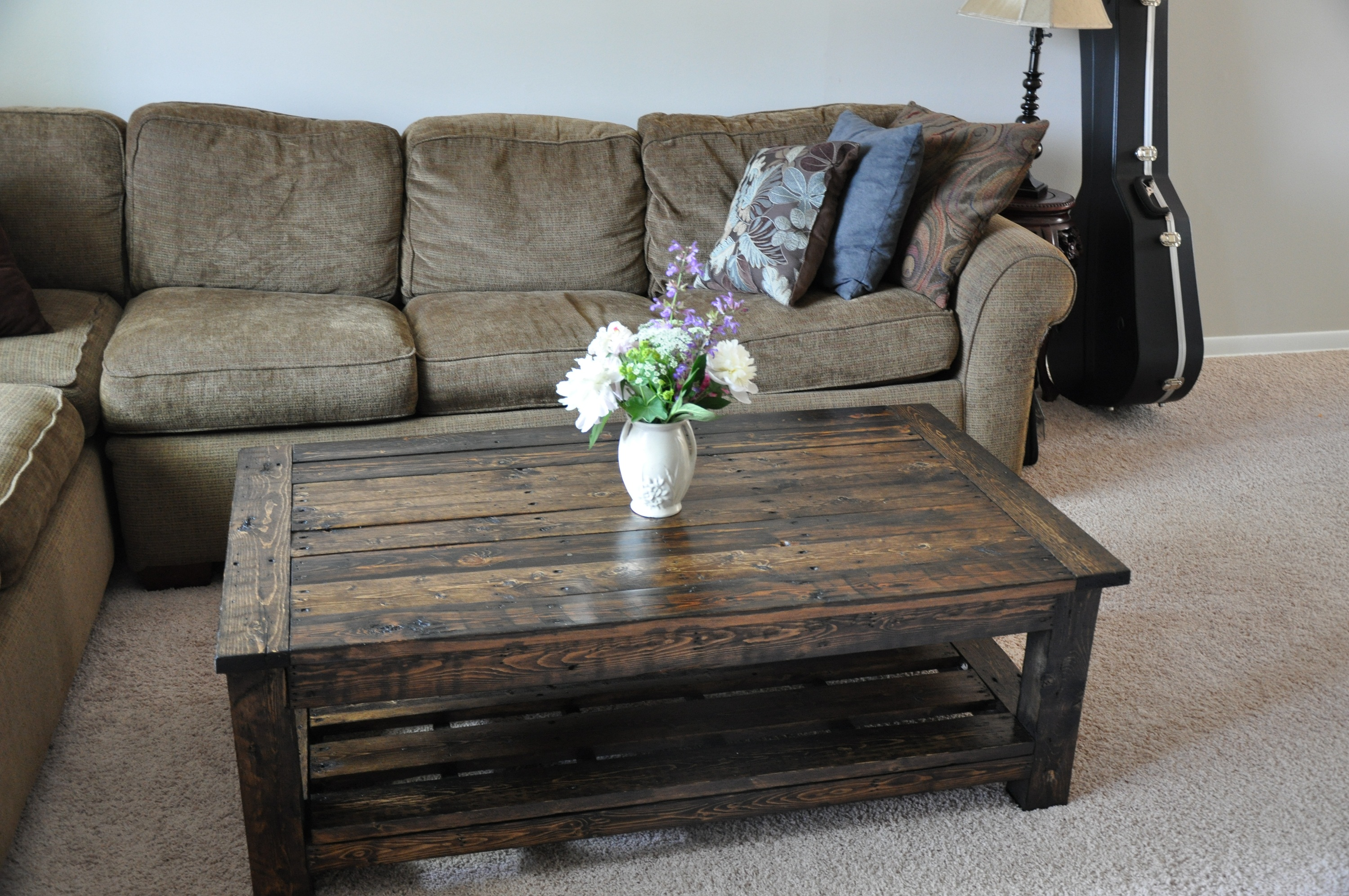 diy pallet coffee tables guide patterns table furniture end ashley porter entertainment center glass nesting target stackable outdoor inch steel pipe brass dining behind sofa