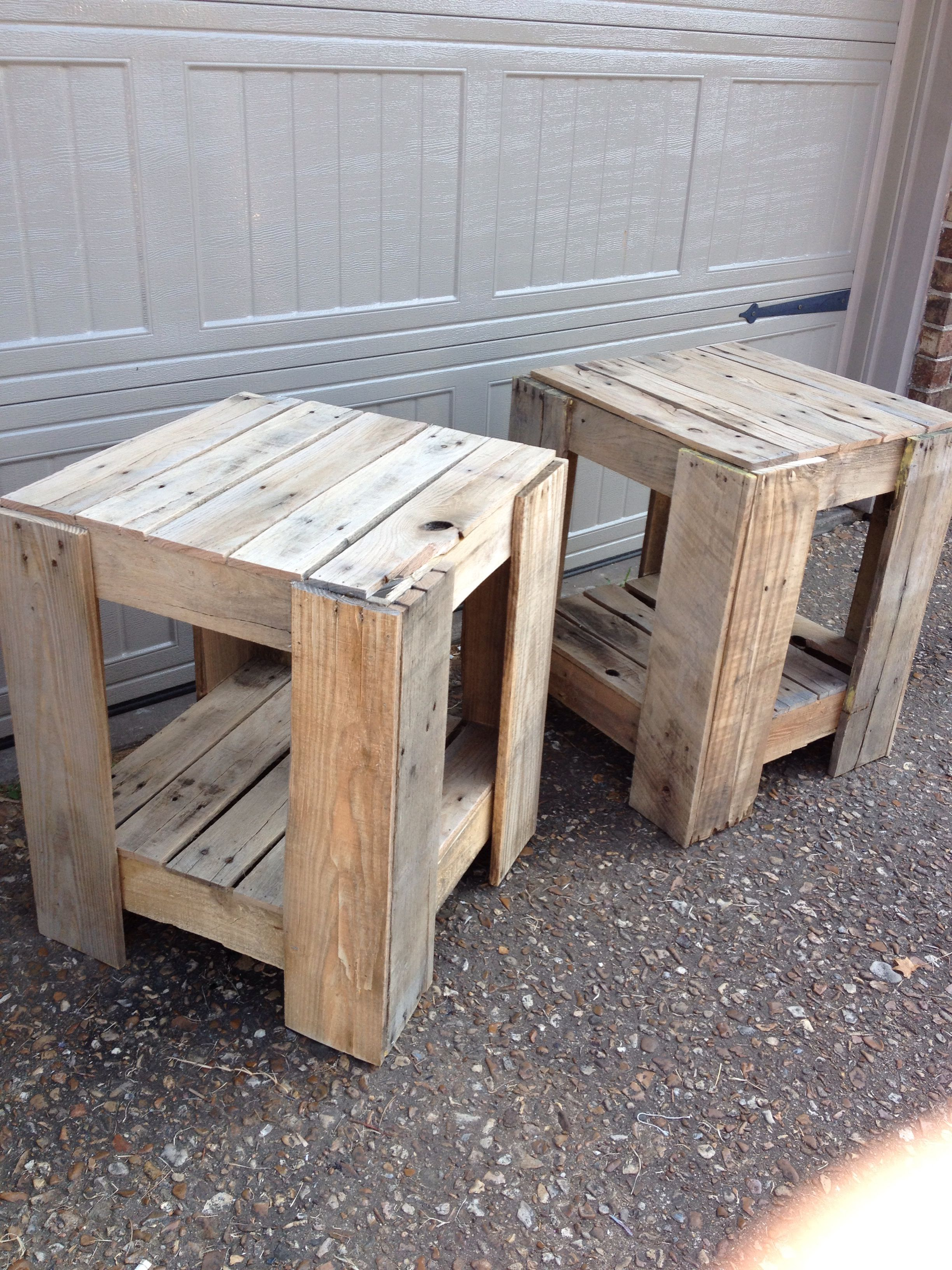 diy pallet end tables home projects outdoor table acme dining painting kitchen black latest coffee designs the living room furniture wooden patio chairs modern ese lazy boy