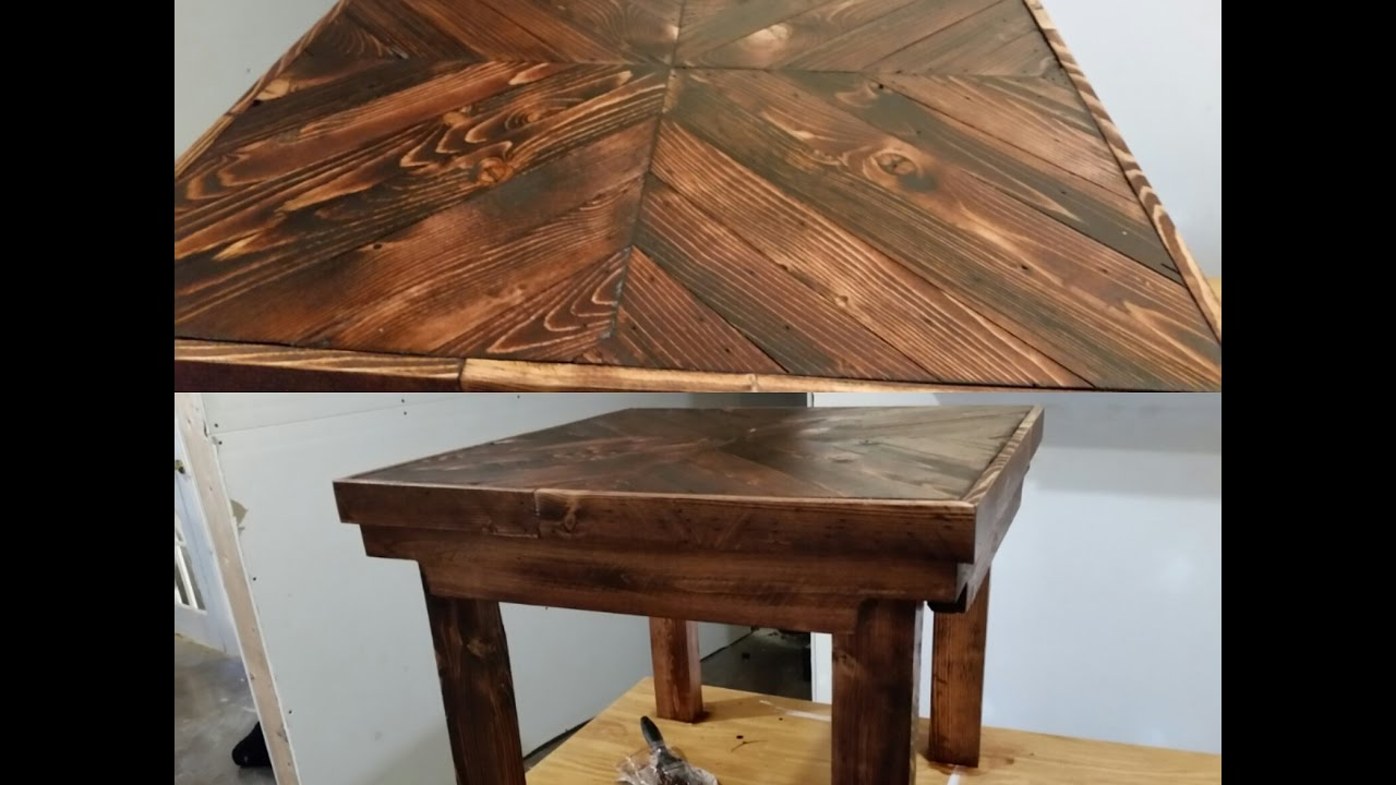 diy pallet wood end table tutorial easy glass coffee london tree countryside furniture cherry red leather chairs and modern ese living room high tables kitchen discontinued ethan