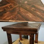 diy pallet wood end table tutorial easy gray and brown sofa porter craigslist west elm coffee pulaski furniture contact information universal industries elephant small with 150x150