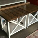 diy rustic end tables the perfect addition your house table side chinese foot sofa narrow console with storage distressed white paint kmart lawn and garden clearance leons 150x150