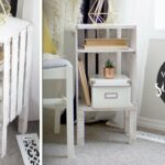 diy wood crate end table nightstand easy bedroom tables rod iron bedside raylene ashley furniture very narrow accent universal collections patio with center fire pit target 150x150