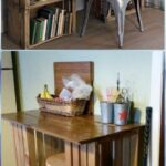 diy wood crate furniture ideas projects instructions diyhowto end table office canadian made laura ashley sofa rustic log dining the garden bench unfinished room with shelves 150x150