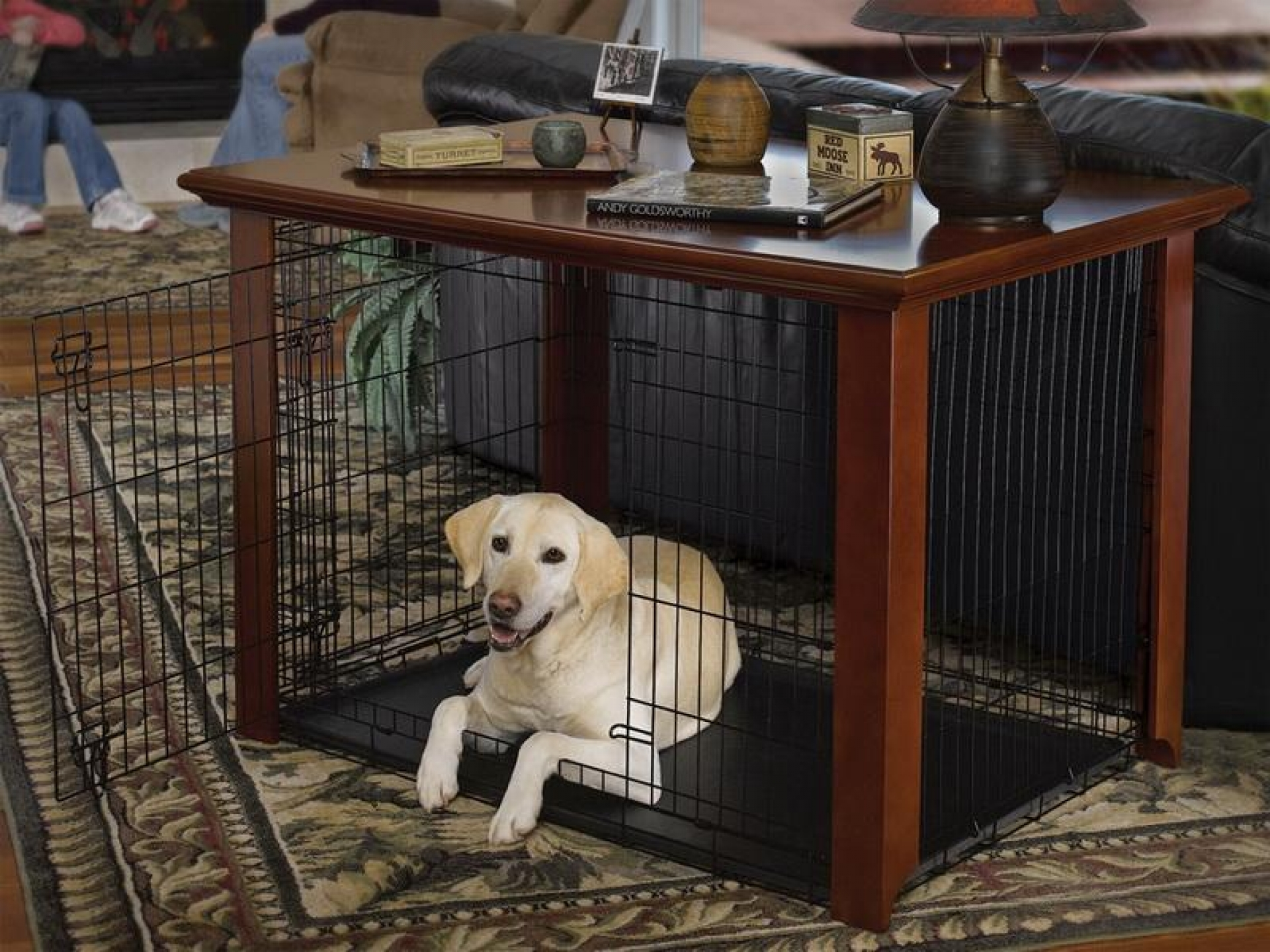 dog crate end table large paristriptips design wooden magnolia farms coffee ethan allen shelf broyhill outdoor patio furniture black industrial simple ashley bar sets craigslist