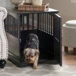 dog crate end tables new owners newport table small laura ashley dinnerware sets iron living room furniture inch round outdoor mixing leather measuring black pipe frame coffee 150x150