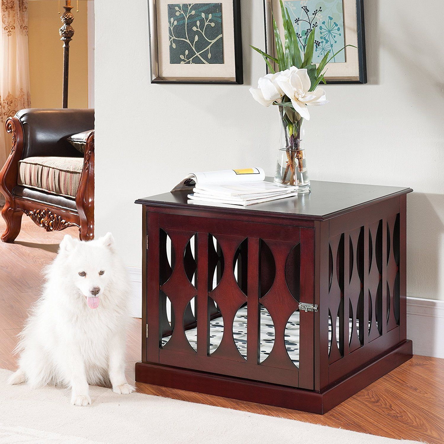 dog crate furniture end table decorative crates that look like tables kennel what black pipe made sagamore dining set out pallets magnolia home whole inexpensive nightstands