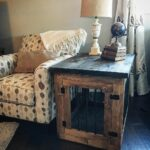 dog furnishing ideas diy small crate end table bench iron living room furniture pipe frame coffee tan leather sofa decorating little crates xenia thomasville french provincial 150x150