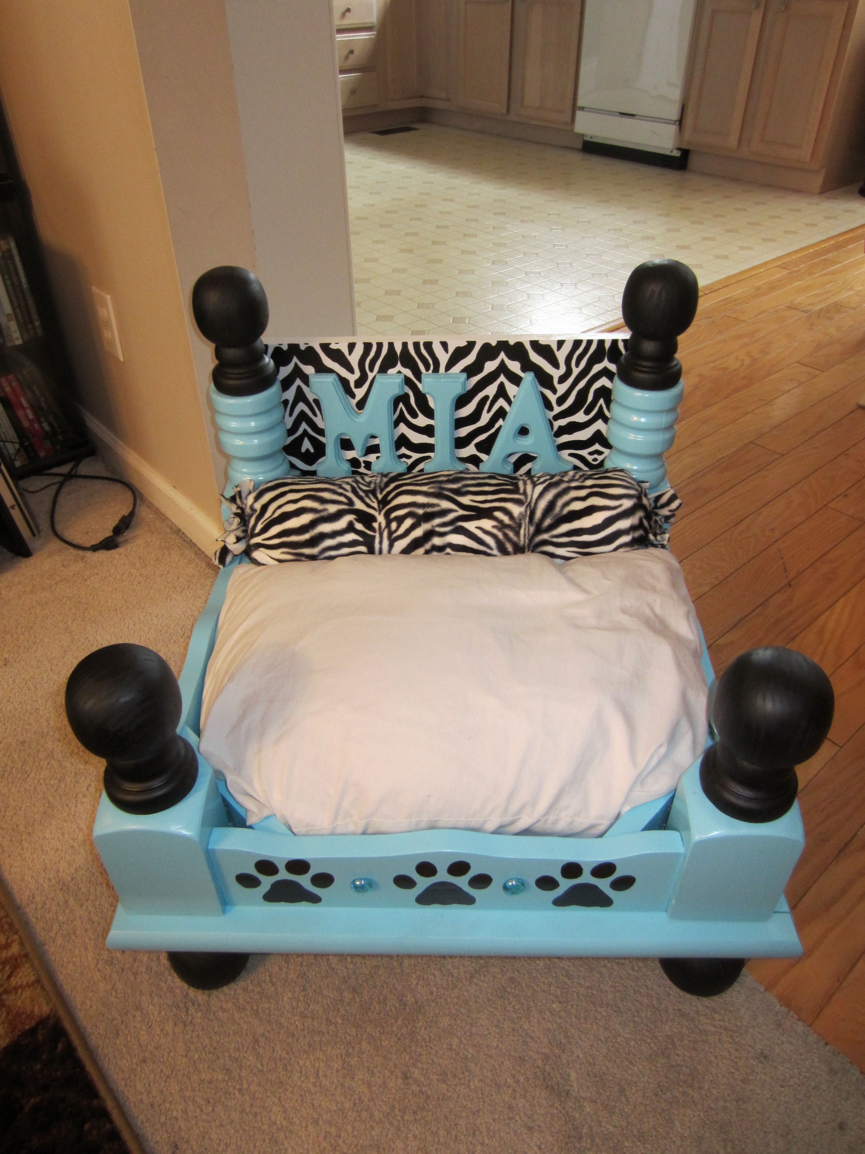 dog made from old end table puppy cute magnolia market bar stools cherry shaker bedroom furniture ashley porter collection folding glass garden latest designs coffee tables brown