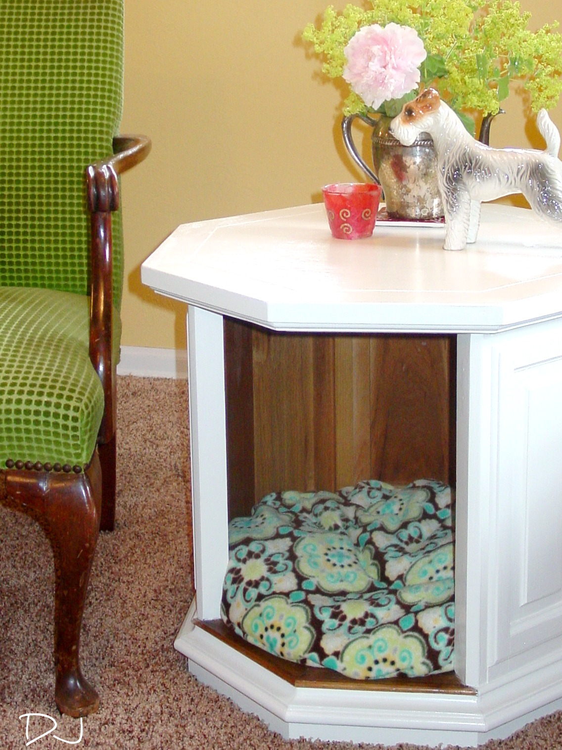 dog table korrectkritterscom coffee out end rustic furniture leon tables wood parsons steel box frame magnolia home furnishings and accessories sauder carson stanley twin with