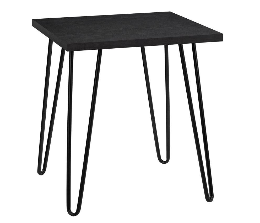 dorel owen retro end table black oak lamp tables products main universal target hairpin legs ashley furniture model number search space between sofa and wall small white metal