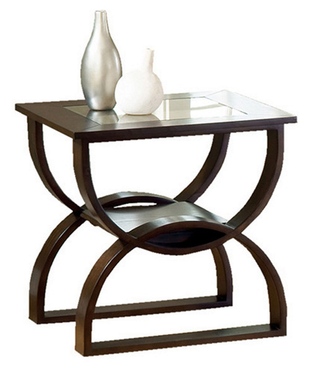 dylan rektangle cherry woody end table glass top vith wood tables with azaleahome kitchen dining stanley vintage furniture uttermost zerrin coffee espresso square altra carson one