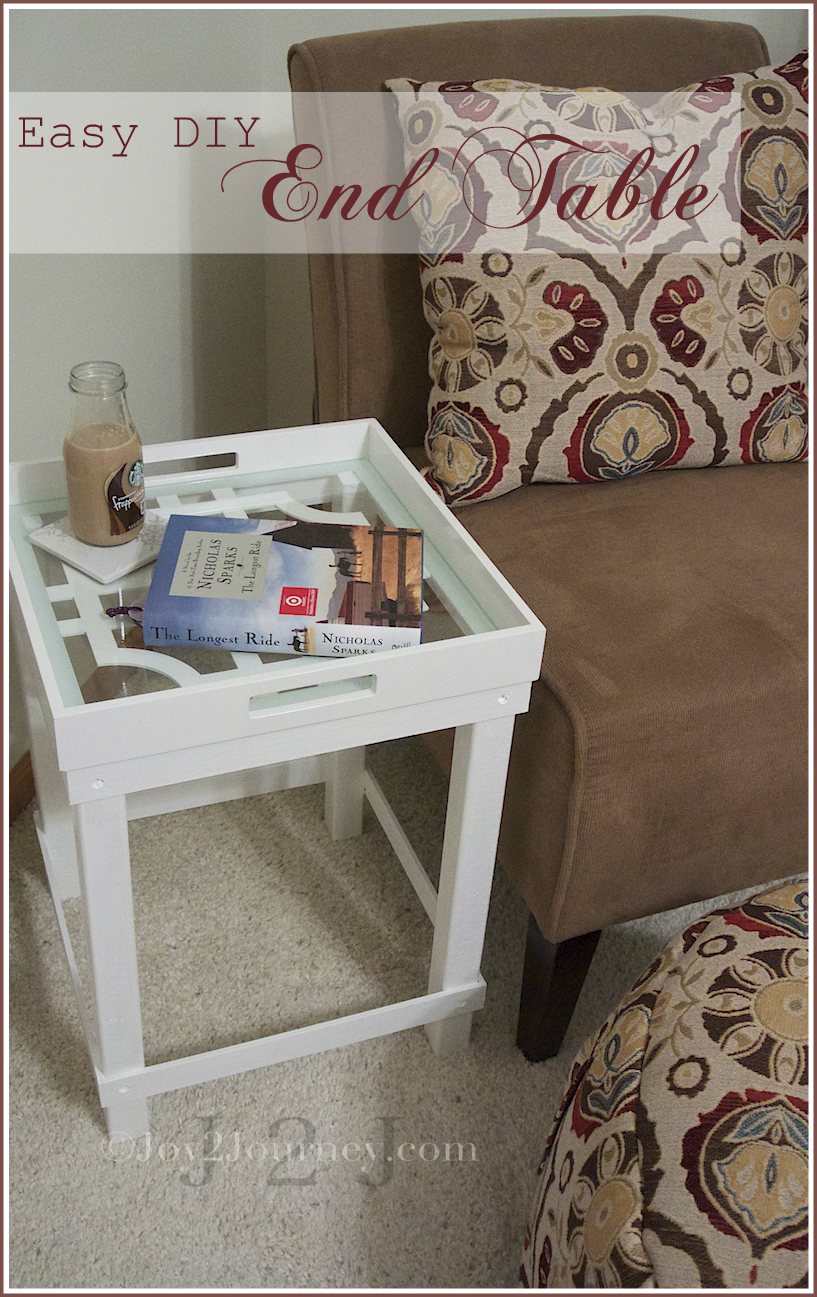 easy diy end table tutorial joy journey french cane colour brown coffee the magnolia farm city furniture tables family sofa homesense pillows pipe legs dining chairs inch tall