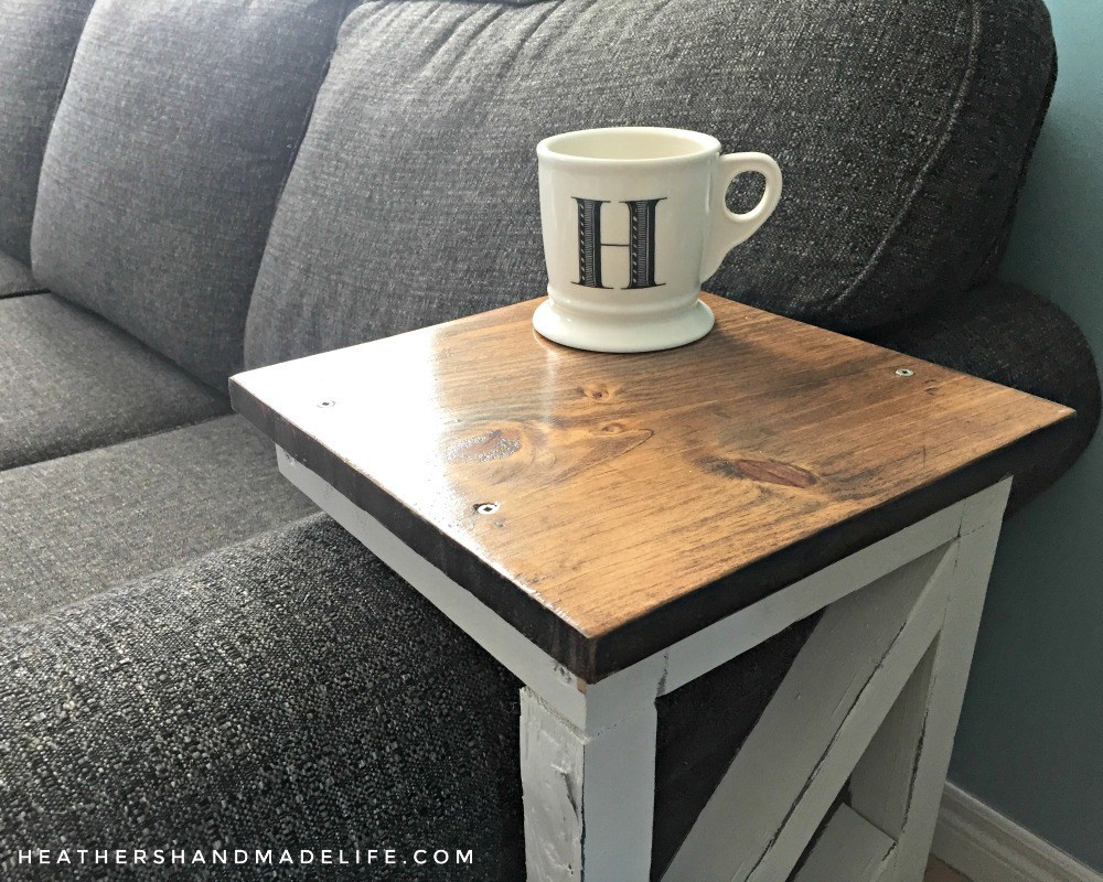 easy diy sofa tables heather handmade life table end mirror and glass homesense burnaby side for bedroom order top pipe legs kmart outdoor chairs the magnolia farm family large