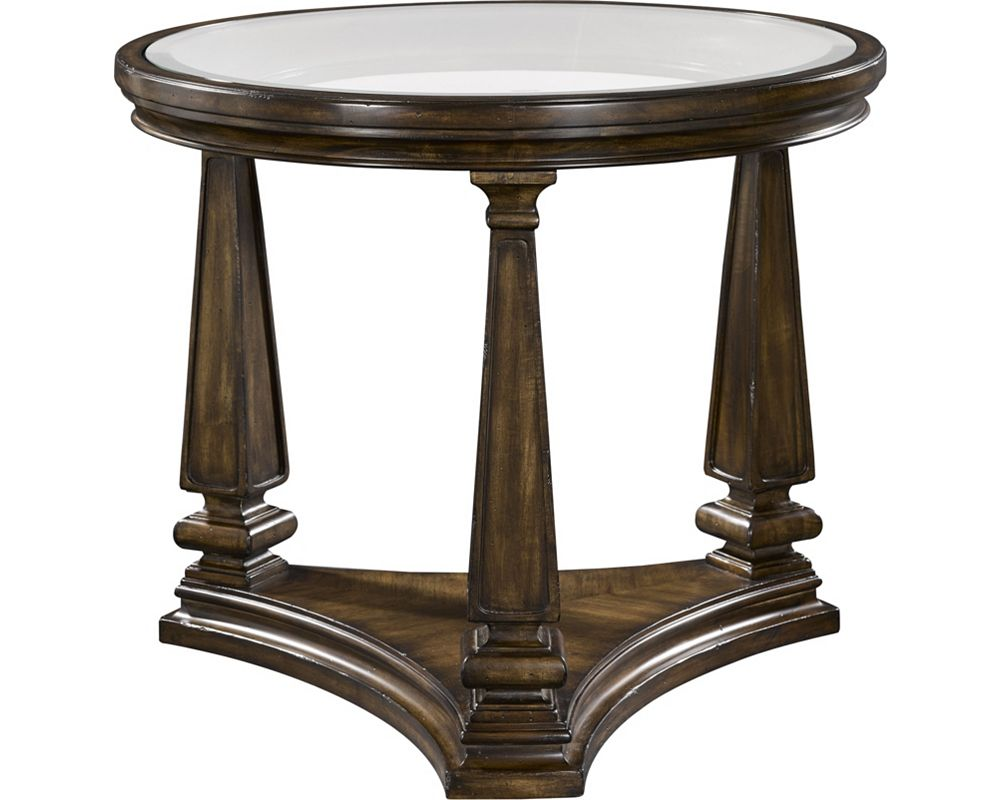 edenhall round end table living room tables thomasville furniture ashley millennium collection extra large wooden dog crate lazy boy rugs countryside kmart kids boots glass dining
