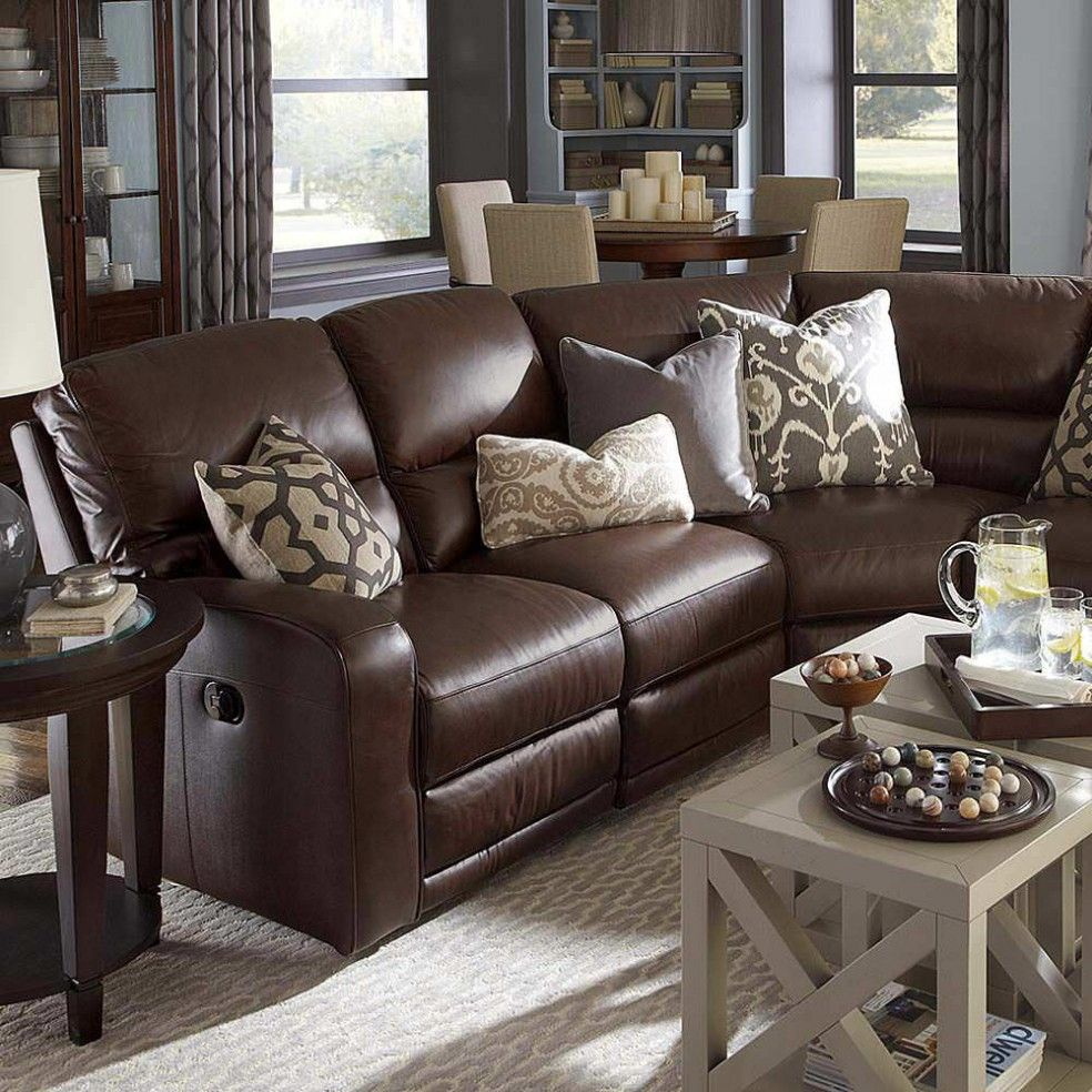 elegant living room colors schemes ideas home leather what color end tables with dark brown furniture this the main scheme want work warm grey walls couches and teal throw white