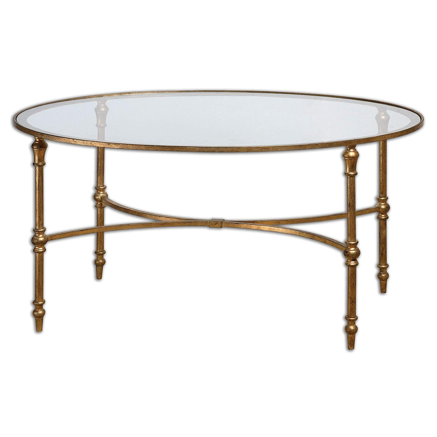 elegant oval gold iron coffee table kitchen dining end real wood tables hooker round pedestal antique glass and nest under red nesting for two riverside plumbs furniture clearance