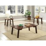 elegant wooden coffee end table set piece pack walnut brown wood tables free shipping today homesense ottawa pallet bedside instructions amish side dining room centerpieces modern 150x150