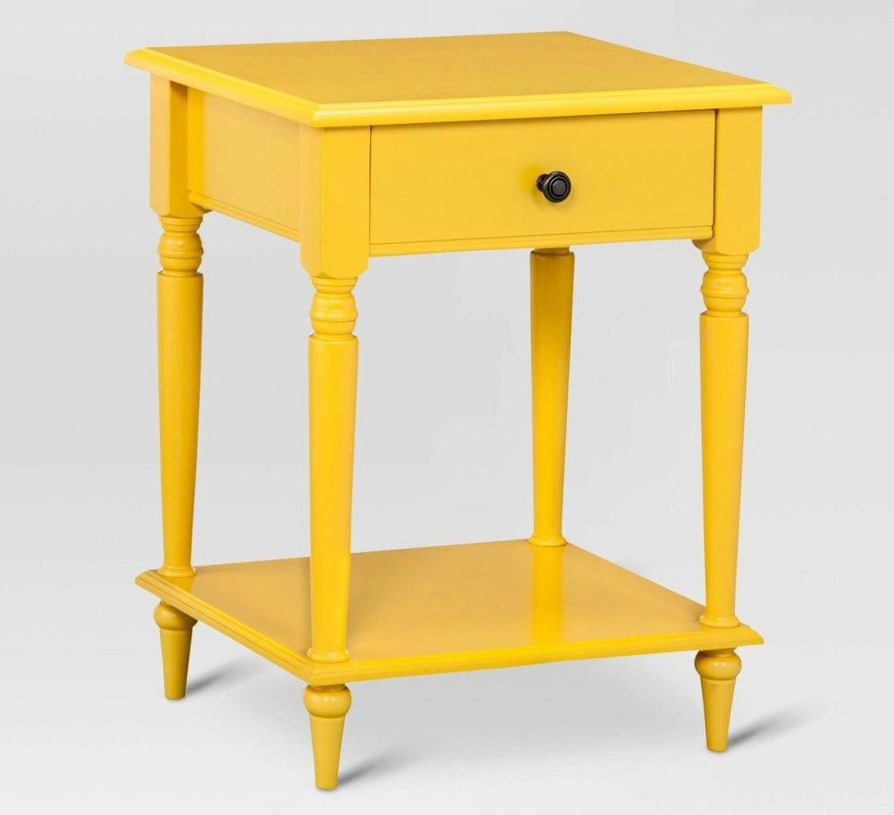 elkton end table three drawer painted yellow threshold nautical bathroom bedside tables ethan allen bedroom dressers circular cover lifestyle furniture dining kmart kids home drum