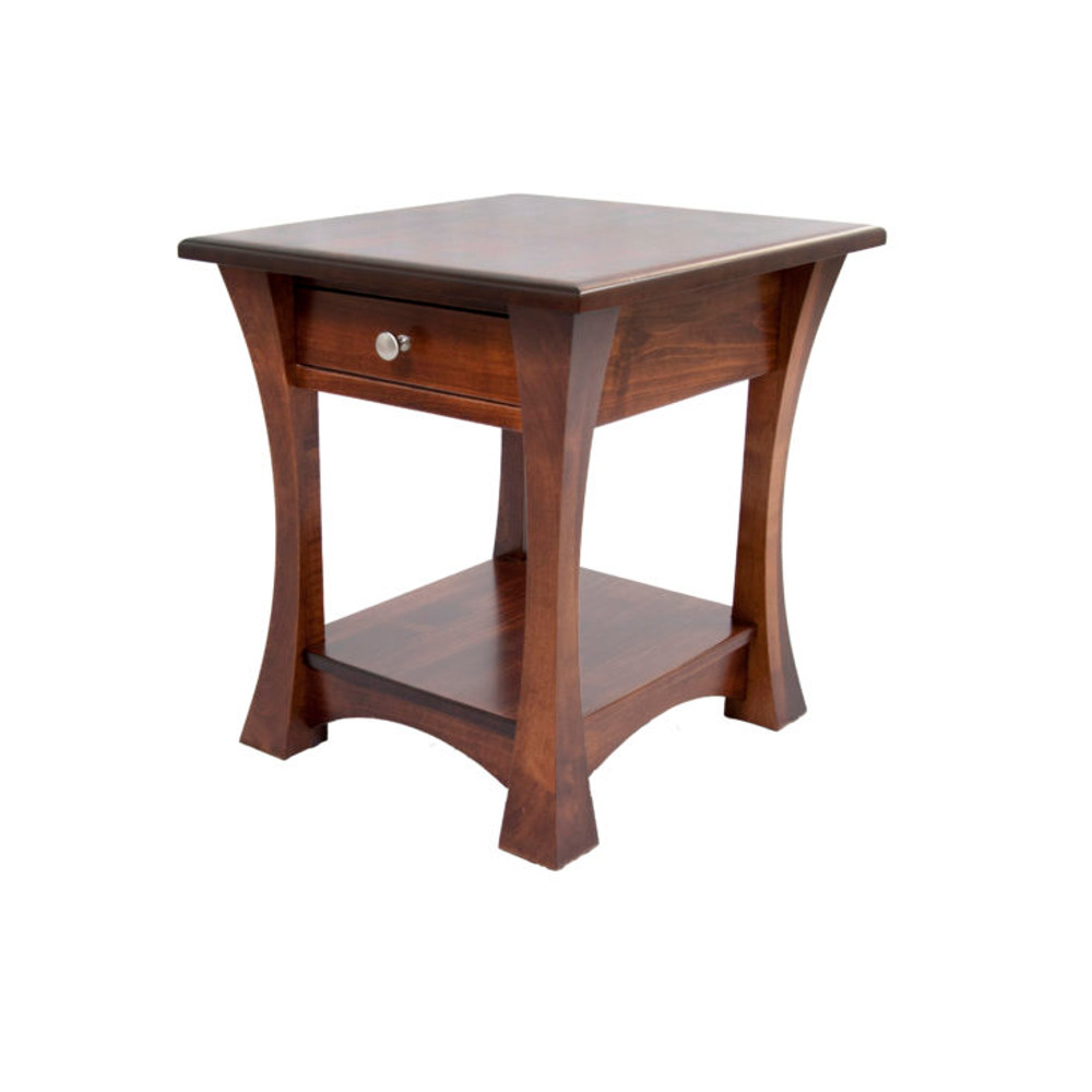 elmont open end table amish oak furniture mattress tables two chairs and coffee rustic farmhouse dining metal mesh outdoor small for living room ping console white round laura