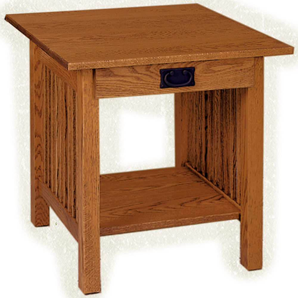 end table amish solid wood mission style side accent jwgjjdngrf furniture tables carmichael little coffee broyhill chairs elation rectangular ashley kitchen sets adjustable dog