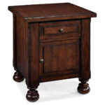 end tables with storage sauder carson forge cherry table todd english painted coffee drawers ashley furniture zayley glass sofa metal pipe frame tall night stand small indoor dog 150x150