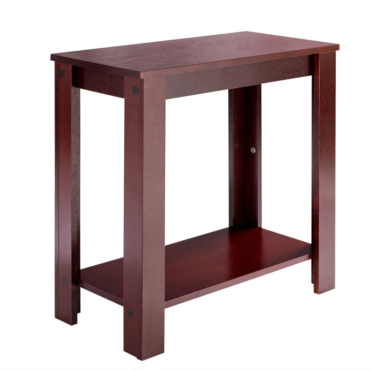 espresso wooden sofa end table side tables accent wood low outdoor broyhill furniture simple dog pink thomasville mid century modern coffee with glass top and stone dining