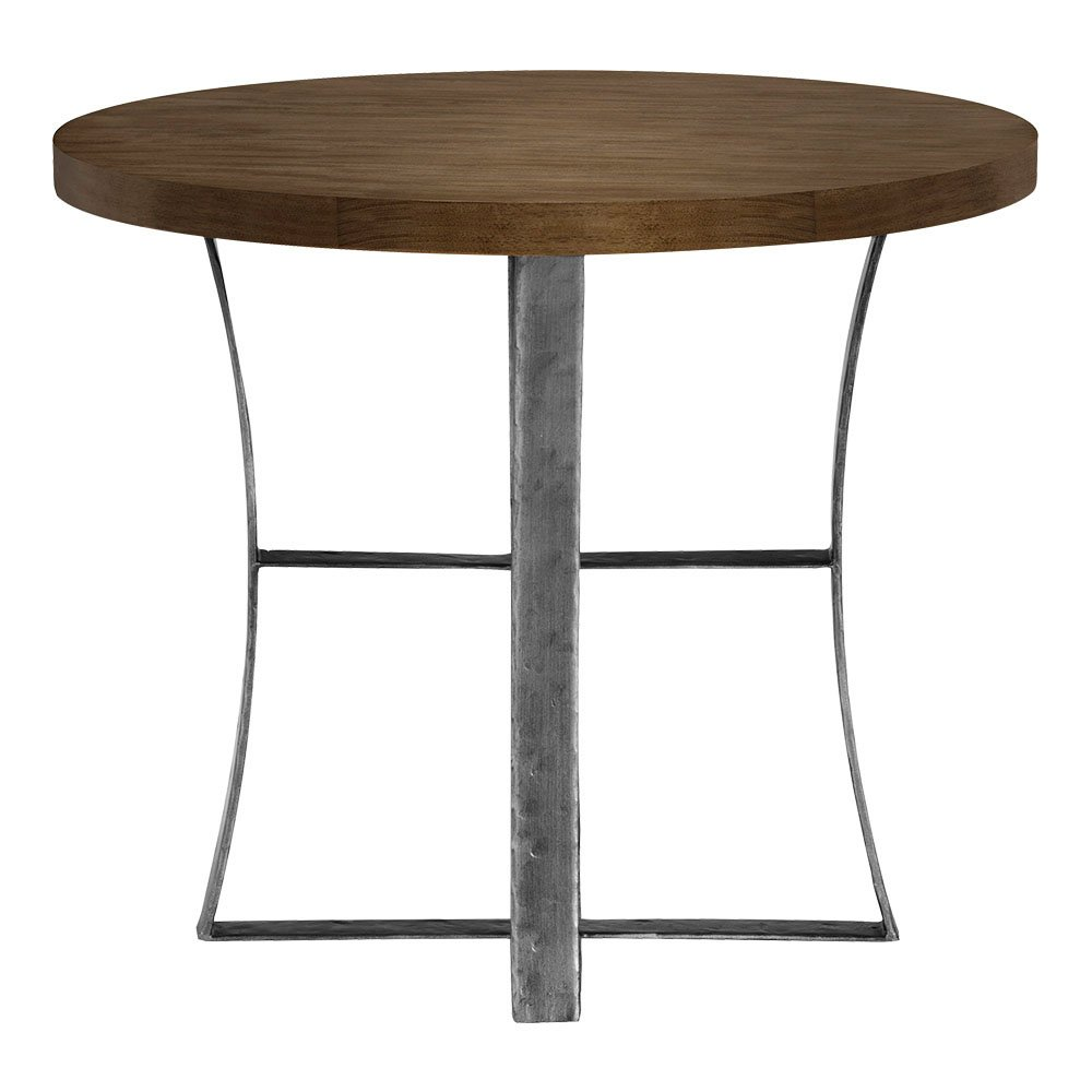 ethan allen roswell round end table umber kitchen dining modern furniture toronto target side with drawer diy log victoria kmart brown leather couch living room design northwest