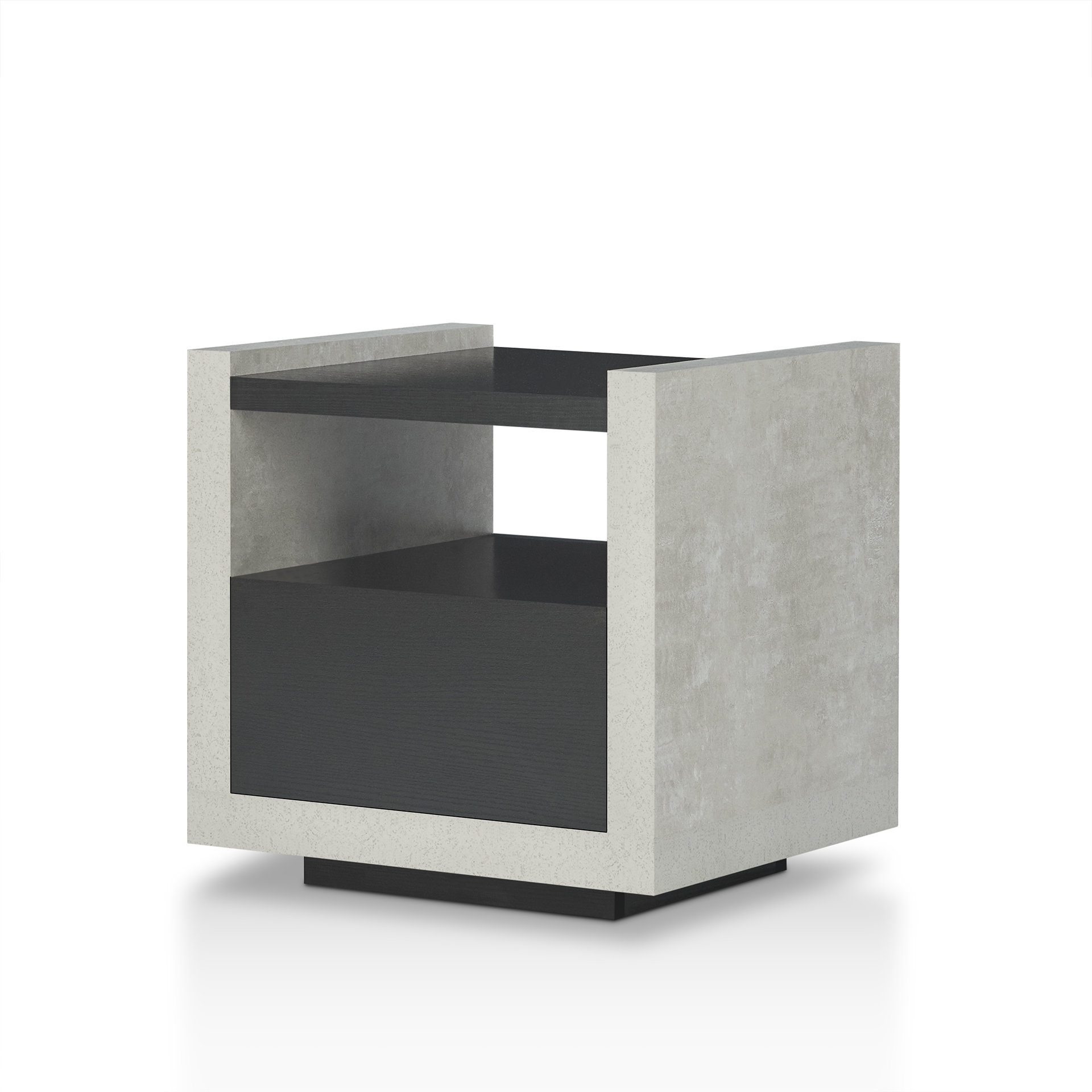 evony contemporary end table reviews joss main tables ashley furniture shoe storage boxes kmart replacement cushions for outdoor restoration montreal modern silver matching