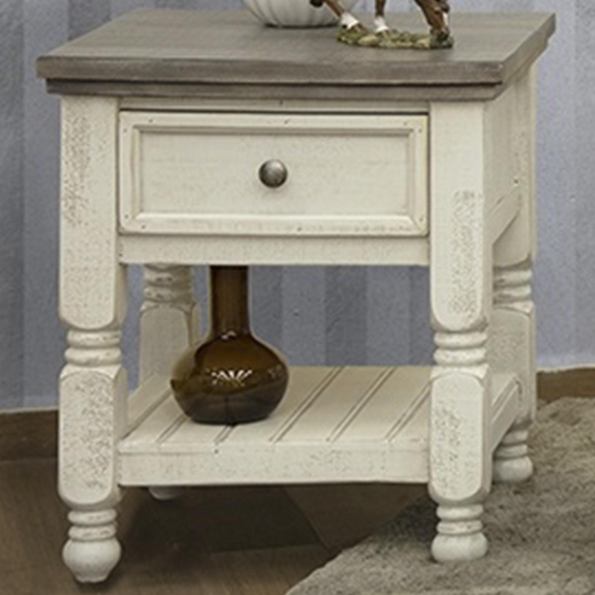 fallridge stone end table off white and gray furniture tables gold geometric side big lots any good wrought iron coffee with top solid metal dog crate little black source raleigh