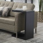 finley home hudson end table apt living room black tables sofa the modern shape this gives style and allows you pull close your chair has sleek magnolia market new location tile 150x150