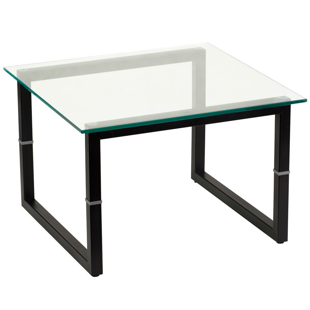 flash furniture end tbl square black metal table glass whalen retailers suede loveseat cherry nightstand under tall side tables living room big lots inch steel pipe high geometric