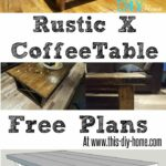 free pdf plans this diy home rustic coffee table end side lamp combo are leather couches style old stanley furniture collections made from pallets hammary kmart waterfall sofa 150x150