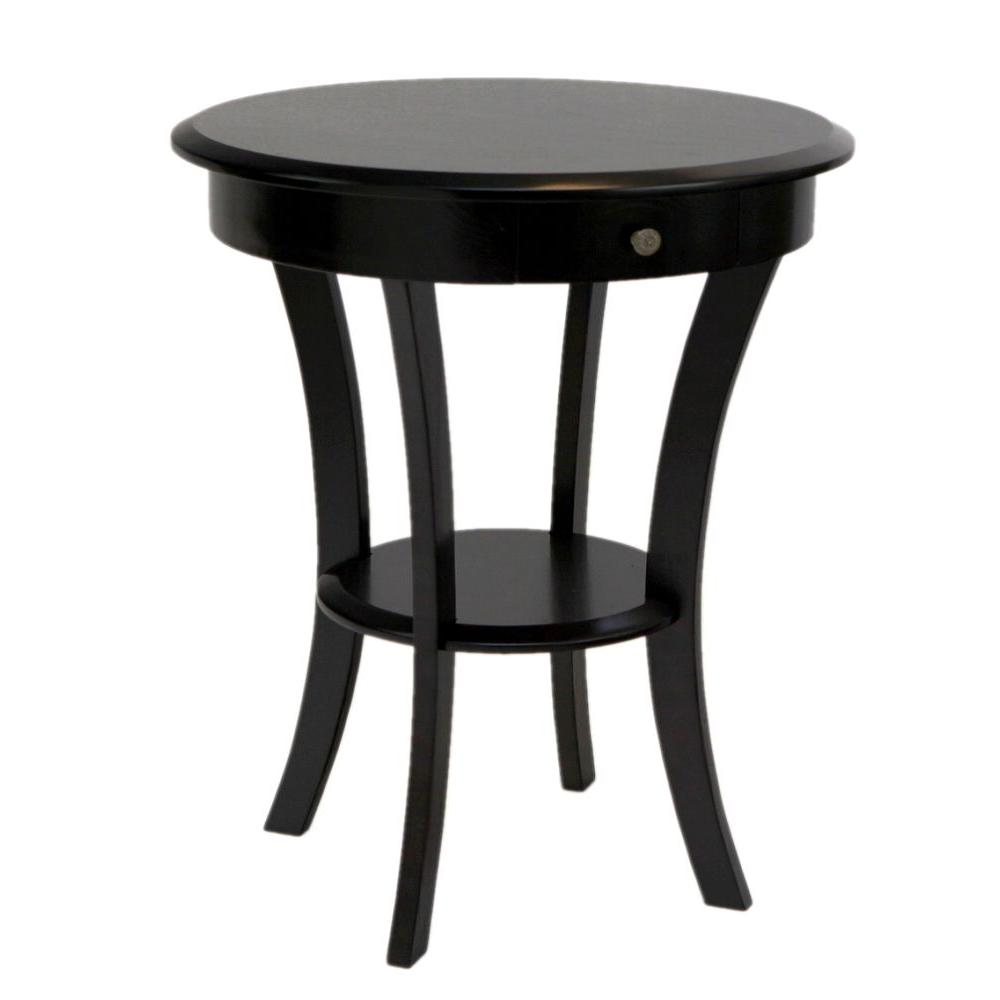 frenchi home furnishing espresso storage end table the tables round bathroom cabinets over toilet kmart electronics wood pallet chair instructions average side height ethan allen