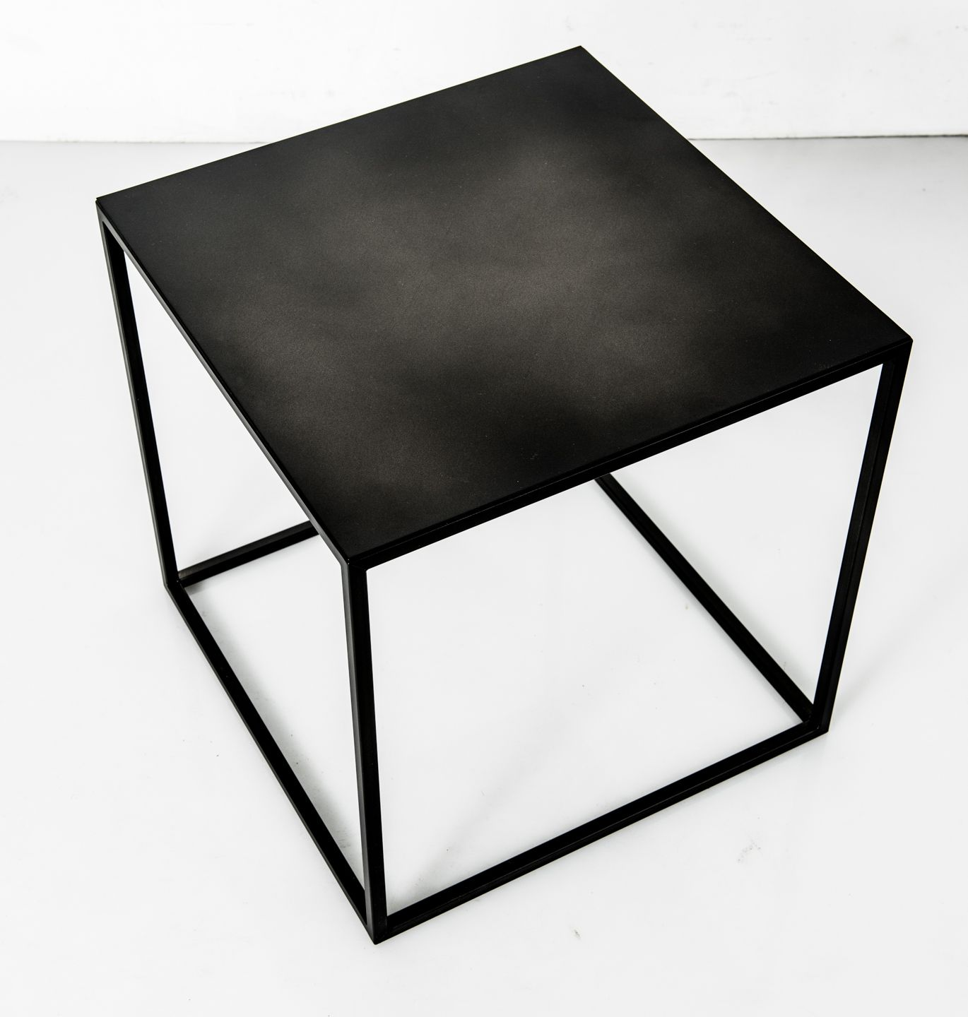 frisco patrick cain designs contemporary side tables black cube end table the powder coated steel available patrickcaindesigns blackfrisco free standing bathroom units broyhill