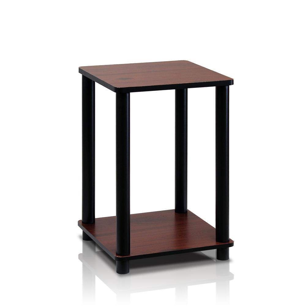 furinno turn tube simple cream marble white end table dark cherry black tables wood this review from saarinen paul frankl brown saltman riverside entertainment wall unit inch high