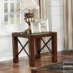 furniture america calrison transitional genuine marble top brown cherry end table sauder boone mountain wolf bedroom set acme company nesting tables decorating ideas distressed 150x150