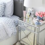 furniture complete your bedroom with beautiful mirrored nightstand night stand ikea bunk nightstands cream colored bedside table wall mounted end tables ethan allen broyhill 150x150
