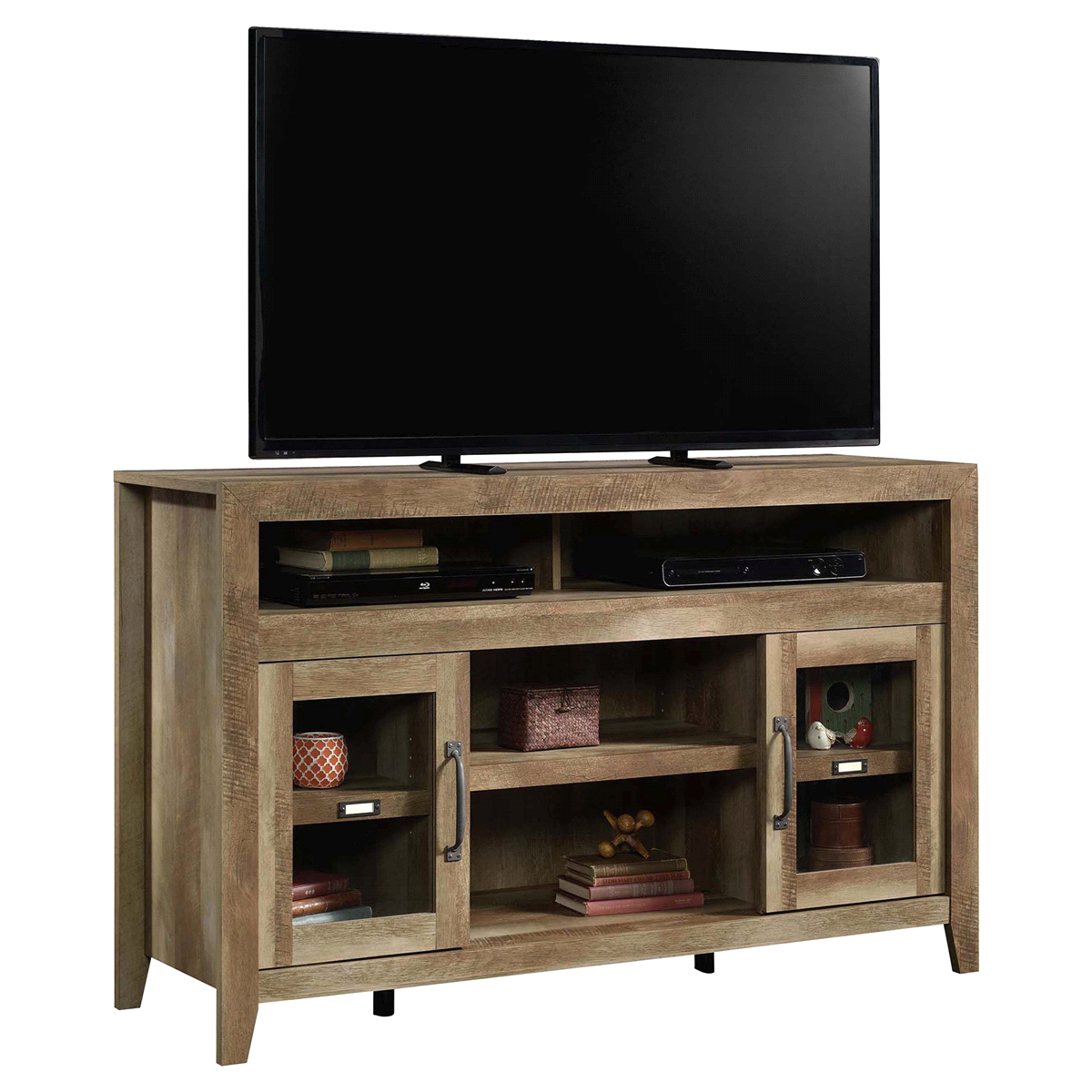 furniture meijer grocery pharmacy home more sauder end table cinnamon cherry accent tables ethan allen buffet glass tops wooden crate for dog toys laura ashley window mirror