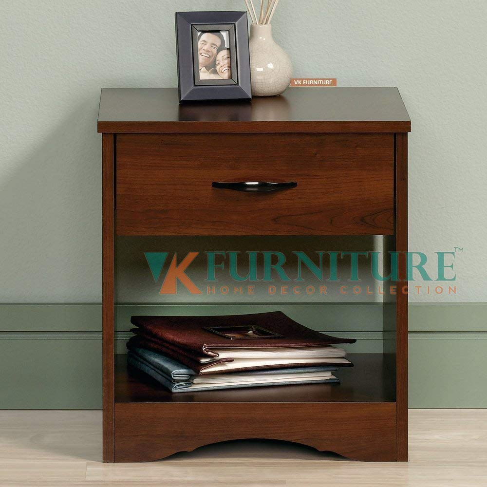 furniture sheesham wood bedside table for bedroom wooden side chocolate brown end tables with drawer storage finish home kitchen lift top cocktail ashley living room columbus