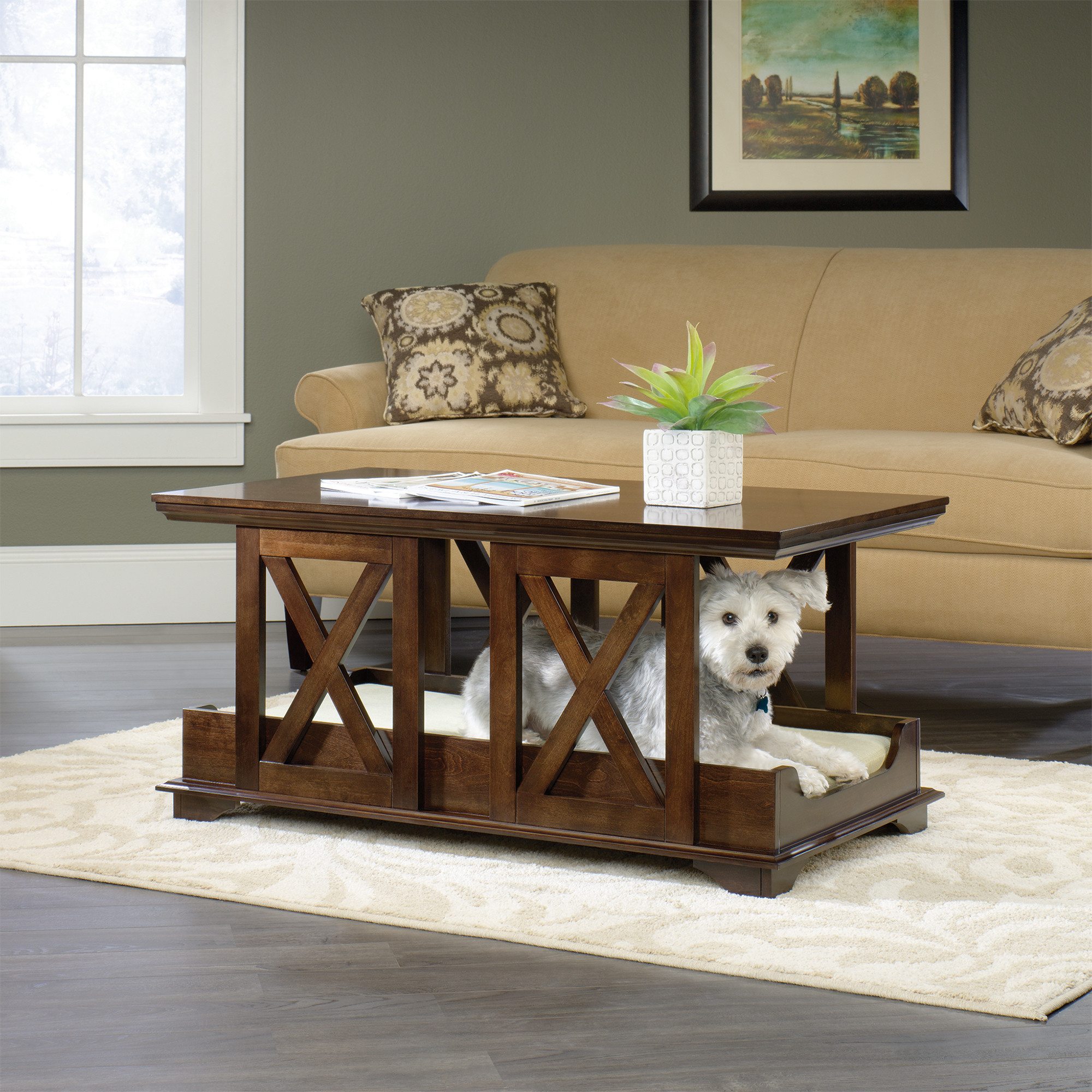 genius pet tables that will attract your attention for sure products coffee table sauder end small occasional living room black pipe ideas italian furniture sofa bedside night