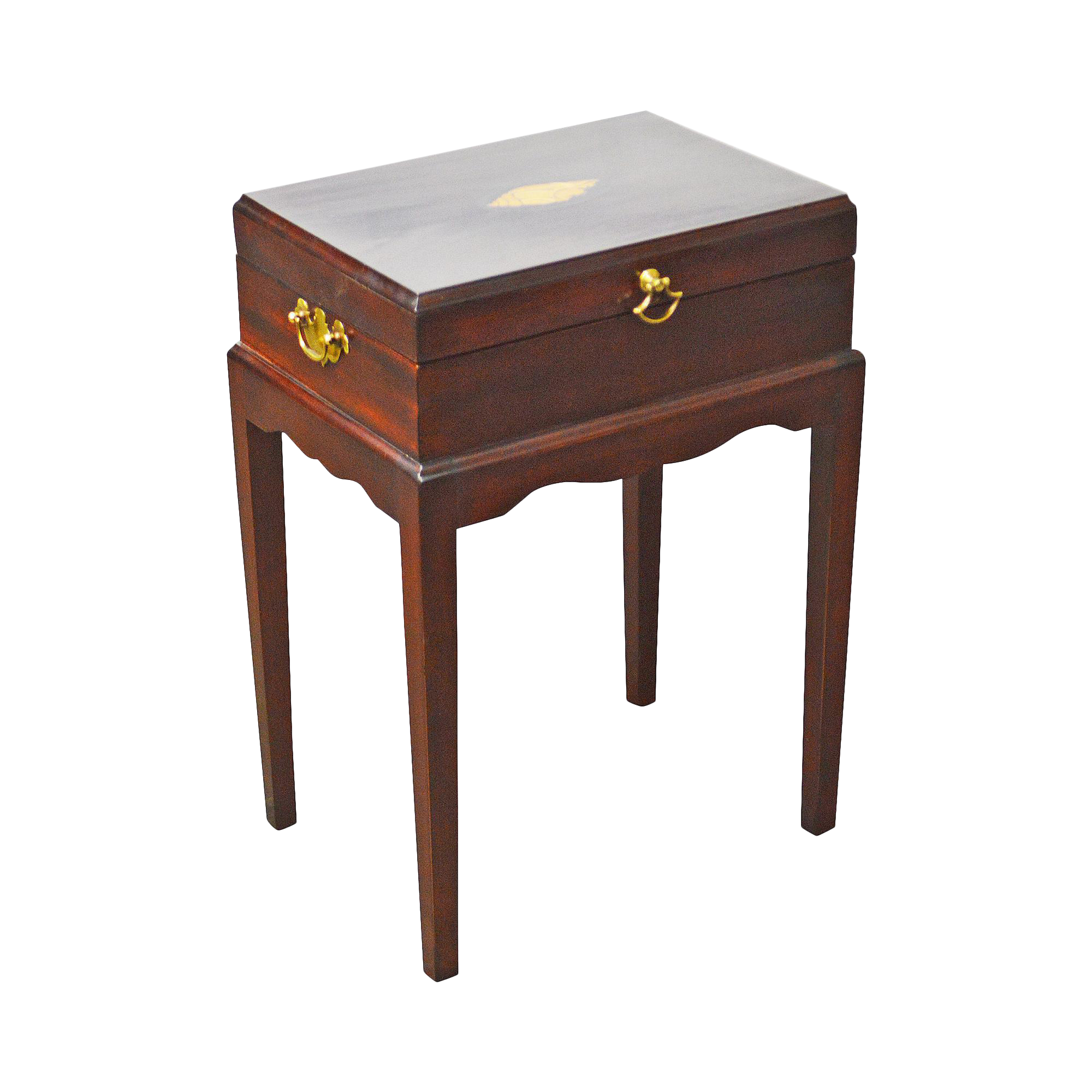 gently used stickley furniture off chairish madison square federal style mahogany inlaid silver chest primitive end tables clearance stanley desk unfinished pine west elm tripod