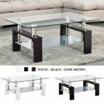 glass coffee table set metal end tables piece living room modern furniture for west elm quality whalen brookhaven desk rustic pine trunk ethan allen history kmart gold shoes 150x150
