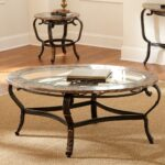 glass coffee table sets set round shape from steel and with livingroom tables end side log furniture cushions laura ashley living room inches long small square bamboo top black 150x150