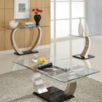 glass coffee tables that bring transparency your living room table can stand alone decor piece and flawless modern end glassy eye catching designs furniture buffet log set oak 150x150